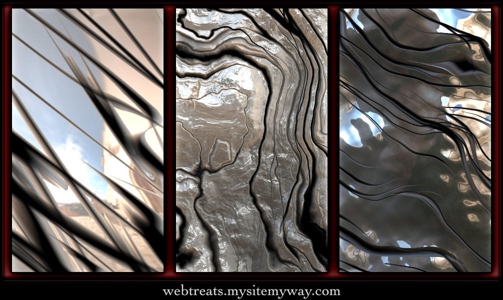 Malleable Metal Patterns by WebTreatsETC