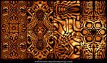 Molten Kaleidoscope Patterns
