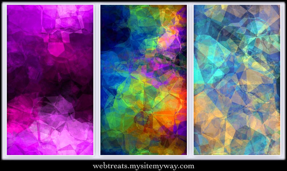 Crumpled Tissue Textures by WebTreatsETC