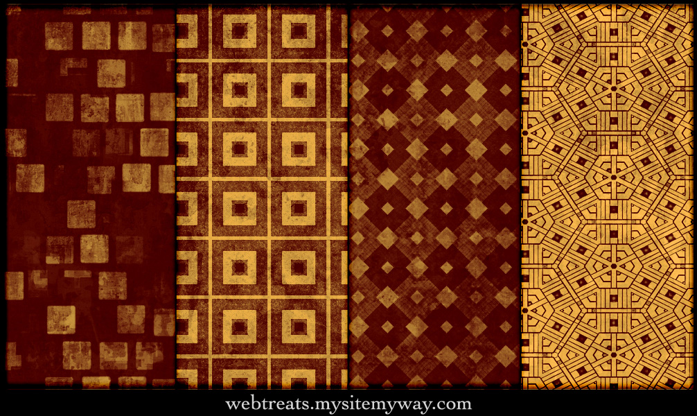 Grungy Fiery Red Patterns