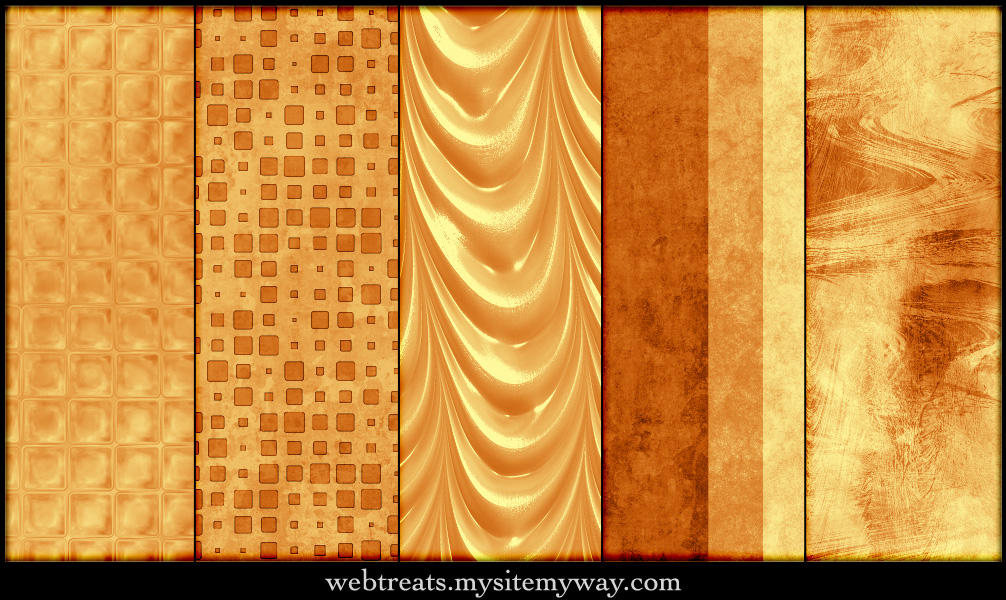 Warm Amber Patterns Part 4 by WebTreatsETC