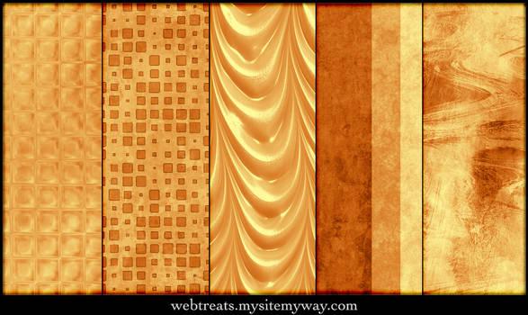 Warm Amber Patterns Part 4