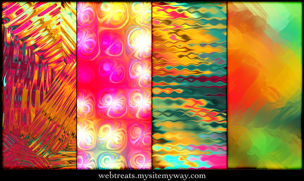 Tropical Abstract Patterns 2 by WebTreatsETC on DeviantArt