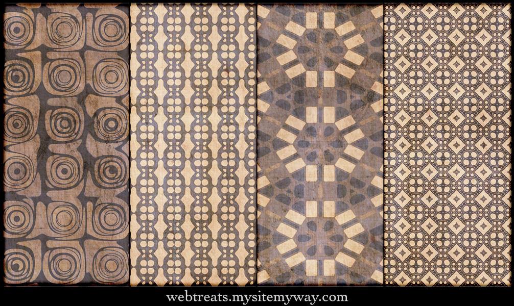 Natural Beige Patterns Part 4 by WebTreatsETC