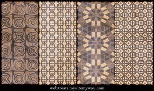 Natural Beige Patterns Part 4 by WebTreatsETC