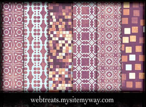 Lavender Peach Patterns Part 2