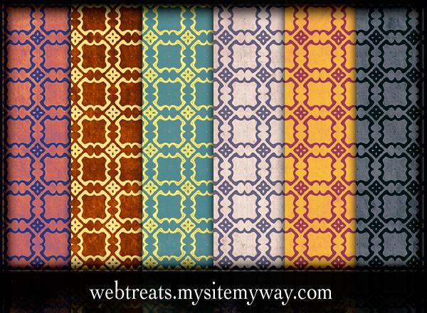Grungy Vintage Patterns Part3 by WebTreatsETC