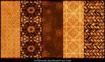 Warm Amber Patterns Part 5
