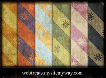 Grungy Vintage Patterns Part4 by WebTreatsETC
