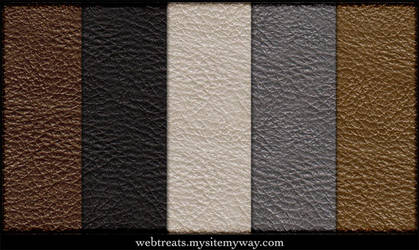 Free Tileable Leather Patterns by WebTreatsETC