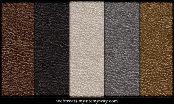 Free Tileable Leather Patterns by WebTreatsETC
