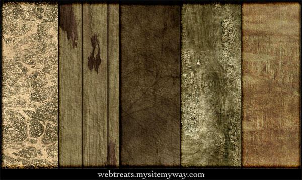 Natural Grunge Textures by WebTreatsETC