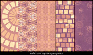Lavender Peach Patterns Part3
