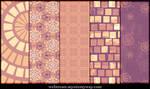 Lavender Peach Patterns Part3