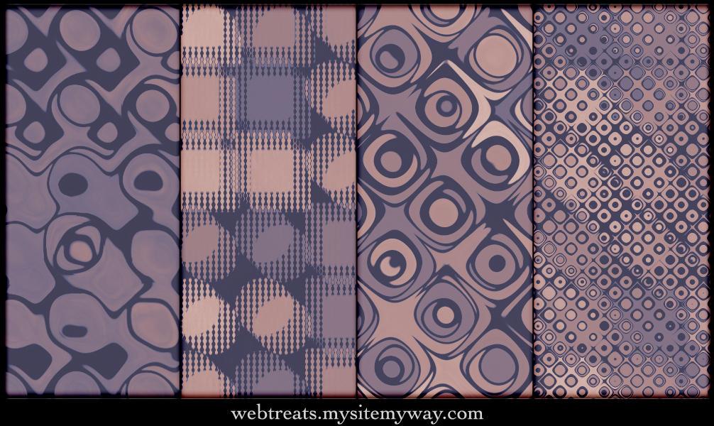 Faded Mauve Vintage Patterns by WebTreatsETC