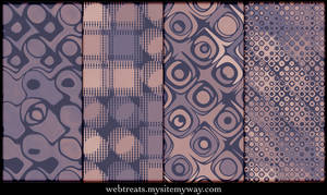Faded Mauve Vintage Patterns