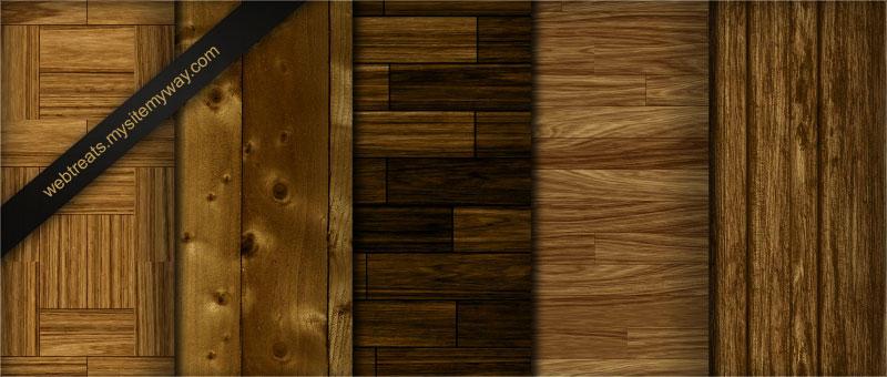 Tileable Light Wood Textures by WebTreatsETC