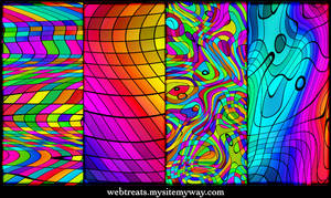 Chromatic Rainbow Patterns