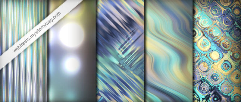 Pastel Abstract Light Patterns