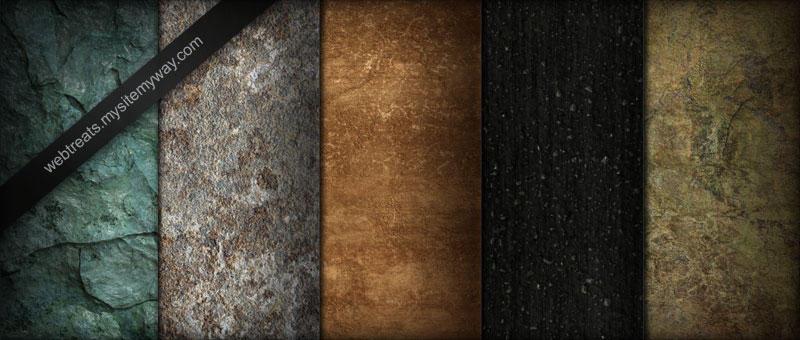 Stone Pavement Marble Textures by WebTreatsETC