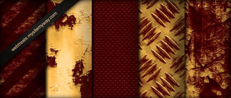 Rusted Industrial Textures P2 by WebTreatsETC