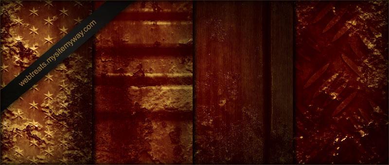 Rusty Industrial Grunge Textur by WebTreatsETC