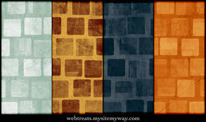 Grungy Abstract Squares Patter by WebTreatsETC