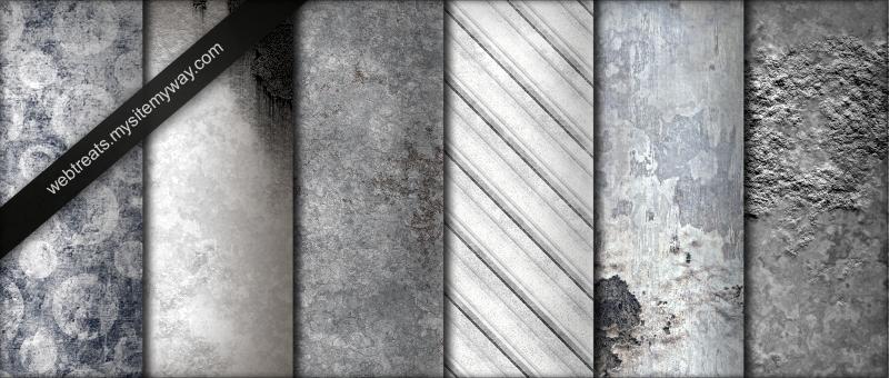 Whitewashed Grunge Textures by WebTreatsETC