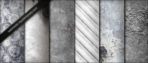 Whitewashed Grunge Textures