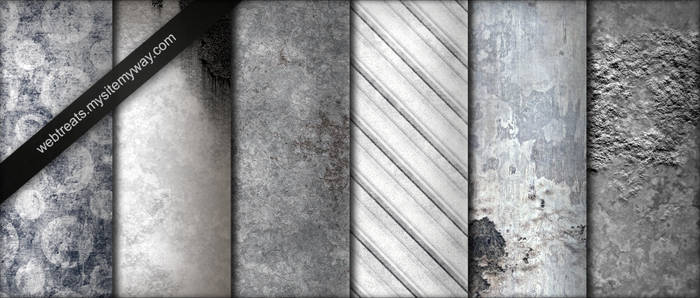 Whitewashed Grunge Textures