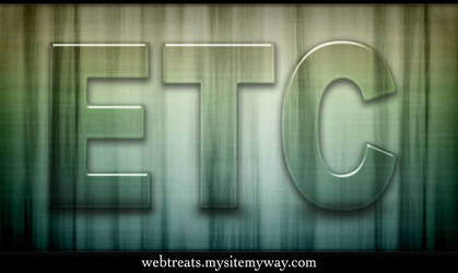 Clear Jelly Text Effect by WebTreatsETC