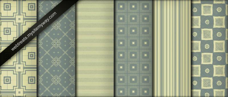 Seamless Olive Green Patterns by WebTreatsETC