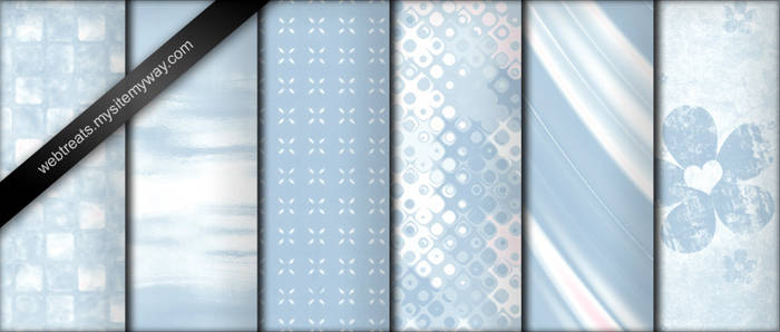 Baby Blue Photoshop Patterns