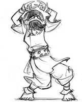 The Toph Dance by DABurgosART