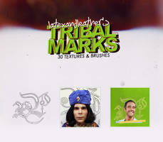latex tribal marks by NotFadeAway