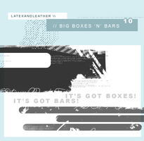 latex's big boxes 'n' bars by NotFadeAway