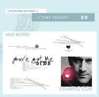 latextext: tiny texxxt by NotFadeAway