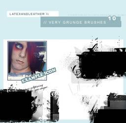 latex very grunge brushes
