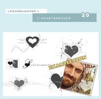 latex is a heartbreaker by NotFadeAway