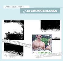 latex grungemasks by NotFadeAway