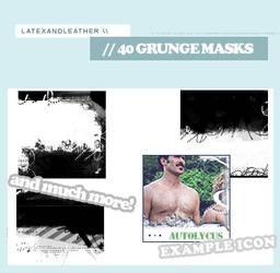 latex grungemasks