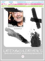 latex mascara_strokes by NotFadeAway