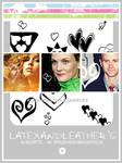 latex andhearts