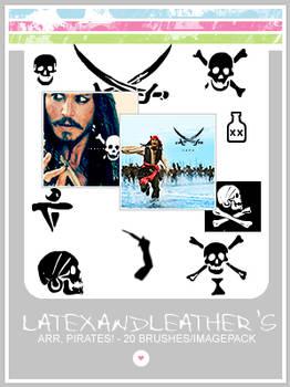 latex: arr, pirates