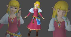 Zelda Skyward sword version by OTsunaO
