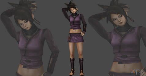 Wrath of the shadow assasin/Young Ayame mesh mod
