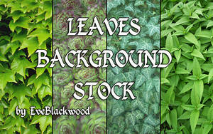 leaves texture backgrounds by EveBlackwood