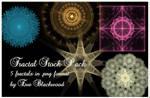 PNG fractal stock