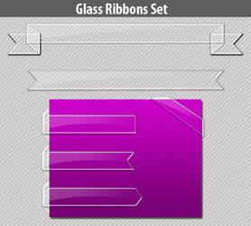 FreeBie- Glass Web Ribbon by sktdesigns
