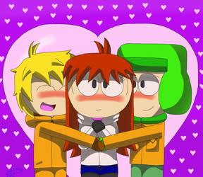 South Park Love by hikari75